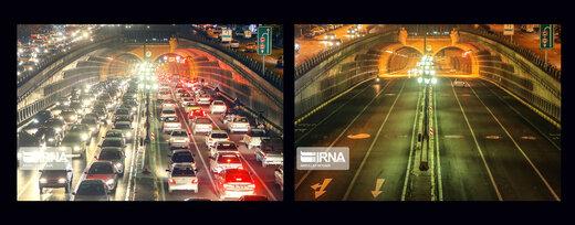 تهران در روزهای قبل و بعد از کرونا