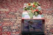 اینجا محل دفن شهید فخری زاده است +عکس