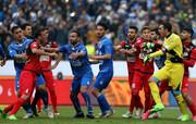 """فرهنگ سازی کانالهای هواداری فوتبال با """"لُنگ"""" و """"کیسه"""" !"""
