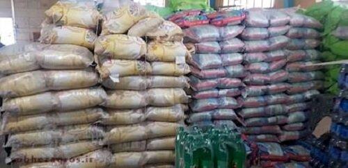کشف ۱۲ تن برنج احتکار شده در یاسوج +تصاویر