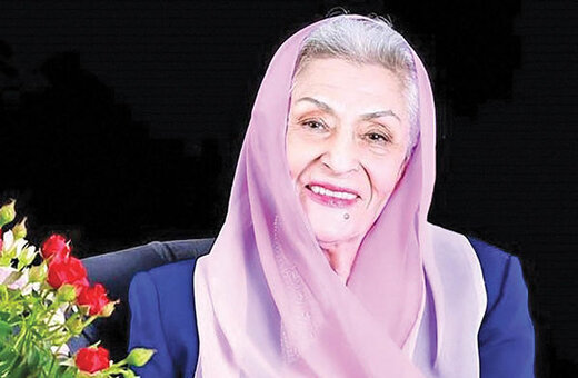 اهدای تقدیرنامه یونسکو به ژاله علو