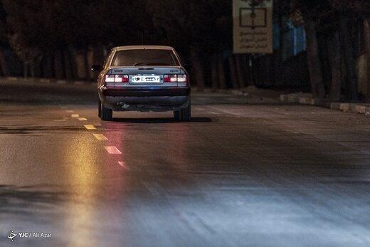مخدوش کردن پلاک در زمان طرح محدودیت تردد
