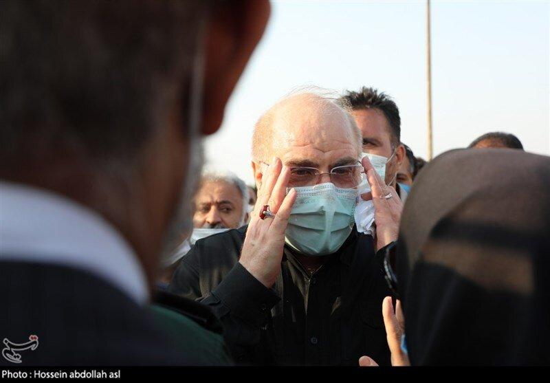 قالیباف در بدو  ورود به تهران:  این سفر بنا به دعوت رئیس دومای فدراسیون روسیه انجام شد