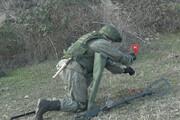 ببینید | خنثی کردن مین در قرهباغ بهدست نیروهای روسیه