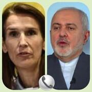 ظریف با همتای بلژیکی گفتگو کرد