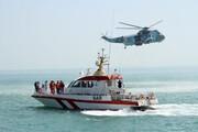 نجات جان ۳ صیاد جزیره کیش در خلیج فارس