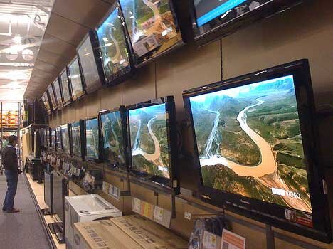 تلویزیون های محبوب بازار چند؟