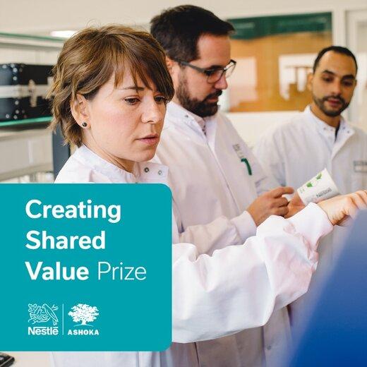 فراخوان جایزه ایجاد ارزش مشترک سال ۲۰۲۰ شرکت نستله برای نوآورانی که در زمینه آینده بدون پسماند فعالیت میکنند