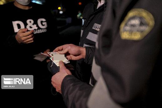 ببینید | برخورد پلیس با رانندگان خودروهایی که روی پلاک خود را می پوشانند