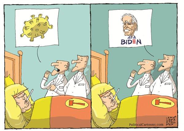 بیماری جدید ترامپ را ببینید!