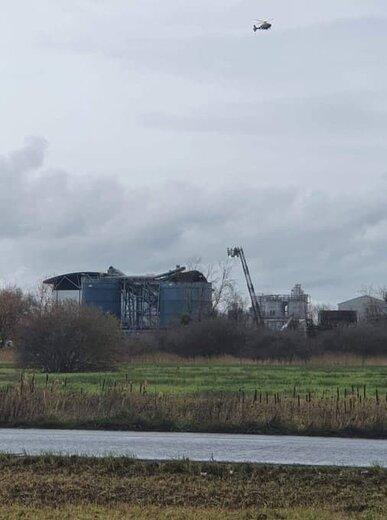 تصاویری از انفجار در جنوب غربی انگلستان