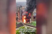 ببینید | آتش سوزی و انفجار در یکی از پالایشگاههای نفت آفریقای جنوبی