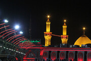 ببینید |  تصاویری از حرم امام حسین(ع) همین امروز