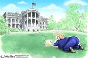 ببینید: ترامپ درحال بمب گذاری کاخ سفید!