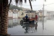راه رهایی مردم اهواز از گرفتاری پس از باران