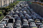 ببینید   وضعیت ترافیک شدید پایتخت