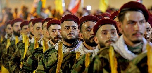 ببینید | نمایش تصاویر رژه نیروهای یگان ویژه حزبالله لبنان برای نخستینبار