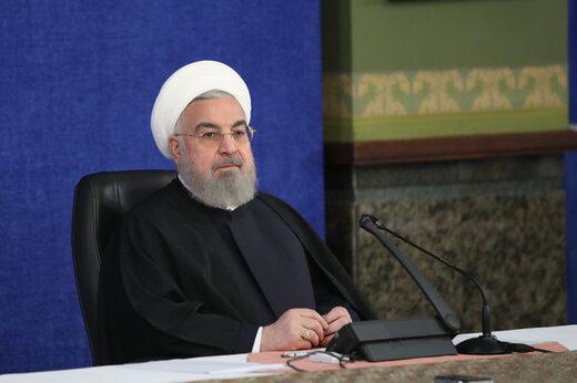 الرئيس روحاني يهنئ رئيس الوزراء التايلاندي بالعيد الوطني في بلاده