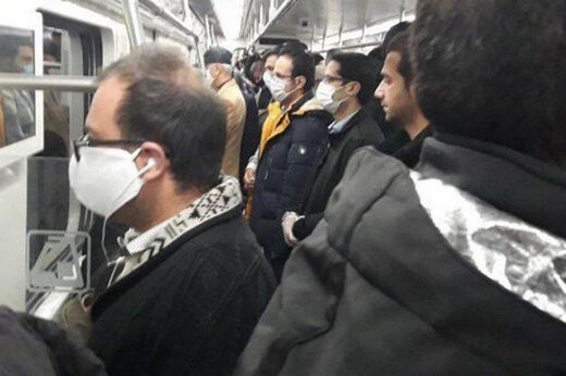 ببینید | وضعیت اسفناک مترو و اتوبوس در اولین روز بعد از کاهش محدودیتها