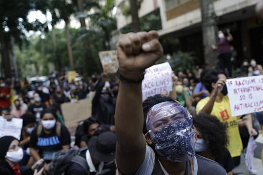 ببینید | تجمع معترضان در مینیاپولیس آمریکا علیه خشونت پلیس