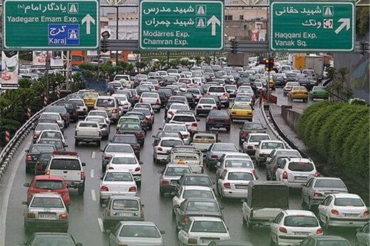 ترافیک صبحگاهی در این اتوبانها سنگین است