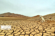 تصاویر | خشک شدن آب سد «عبدل آباد» بجنورد