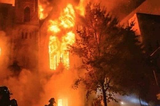 ببینید   آتشسوزی مهیب در رستورانی در پایتخت عربستان