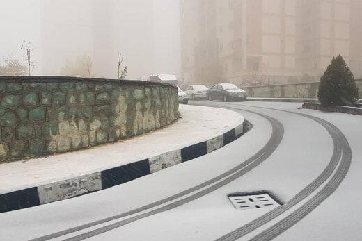 بارش برف و باران و وزش باد شدید در ۱۶ استان کشور/ تهران کی برفی میشود؟