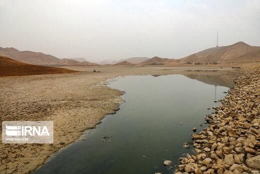 خشک شدن آب سد «عبدل آباد» بجنورد