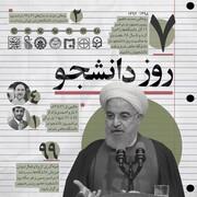 حال و هوای  آخرین سالگرد روز دانشجو در دولت حسن روحانی
