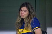 ببینید | صحنه تاثیرگذاری که در مواجهه دختر مارادونا و بازیکنان رقم خورد