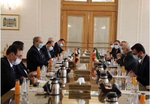 دور نخست دیدار وزیران خارجه ایران و سوریه آغاز شد