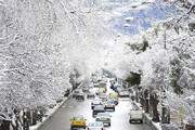 باران و برف در ۱۲ استان کشور