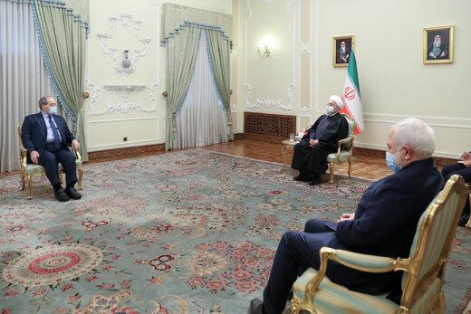 روحاني: العلاقات الإيرانية السورية أخوية واستراتيجية