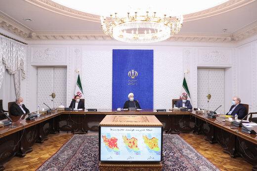 الرئيس روحاني : انتاج اللقاح الايراني وشراء النسخة الاجنبية على سلم الاعمال