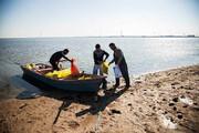 ببینید | اولین مرحله دانه ریزی برای پرندگان مهاجر در تالاب هورالعظیم