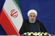 الرئيس روحاني: عدد الاصابات بجائحة كورونا آخذ في التراجع في معظم المحافظات