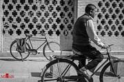 تصاویر   خاطرهبازی شیرین با دوچرخههای قدیمی اصفهان