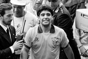 دیگو مارادونا با لباس تیمی که هرگز ندیده بودید/عکس