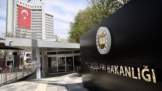 واکنش ترکیه به گزارش حقوق بشری آمریکا