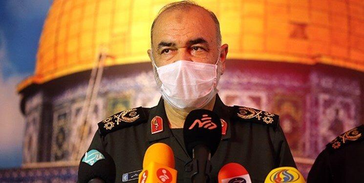 پیام فرمانده کل سپاه درپی درگذشت یک سردار سپاه