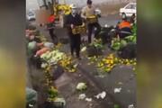 ببینید | کار تحسینبرانگیز مردم و پلیس تبریز که در تاریخ ثبت شد