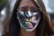 عکس/یک مدل جدید ماسک در کلمبیا!