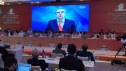 آغاز سی و نهمین مجمع شورای المپیک آسیا با پیام تصویری توماس باخ