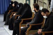 ببینید | فرزندان سردار شهید سلیمانی در محضر رهبر انقلاب