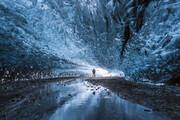ببینید | شگفتانگیزترین غار یخی جهان در کشور ایسلند