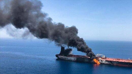 ببینید | آسیبهای وارده بر کشتی رژیم صهیونیستی در تنگه هرمز