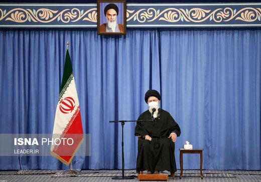 قائد الثورة الاسلامية يعزّي برحيل اية الله نظري خادم الشريعة (رحمه الله)