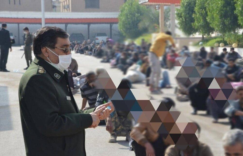 پلمب ۴ منقلخانه در تهران؛ بازداشت ۸۰۰ موادفروش