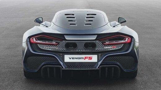 هنسی ونوم اف5؛ ابرخودرویی با سرعت 500 کیلومتر برساعت و تولید محدود به 24 دستگاه